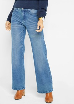 Elastsed teksad (Open End Denim, Wide Leg)